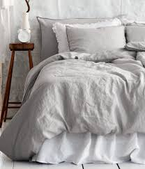 grey linen duvet cover perfect bedroom for the home gray bedspread
