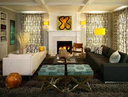 living room blue and brown living room ideas grey brown