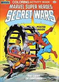 marvel super heroes secret wars coloring activity book sc 1984 marvel books 1a