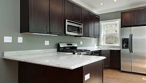 modern and simple white granite kitchen table Home Interiors