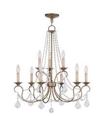 livex 651948 pennington 9 light 28 inch antique gold leaf chandelier ceiling photo gold leaf chandelier d6