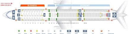 Airbus A320 Seating Chart Air Canada Air Canada Fleet Airbus A330 300 Details And Pictures
