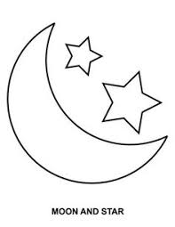 Small Picture Free Coloring Pages Of Stars And Moon Coloring Pages Pinterest