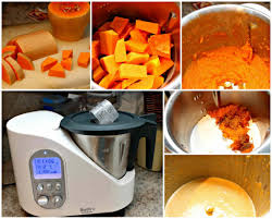make pumpkin puree in bellini thermo cooking