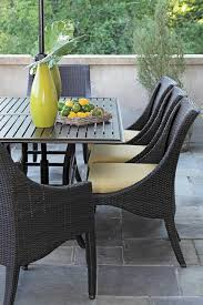 wicker patio dining chairs. Delighful Wicker The Patio Dining Furniture Pertaining To Resin Wicker Table Plan Chairs A