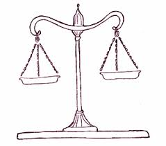 bbc gcse bitesize mercy and justice scales of justice