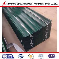 building materials whole corrugated roof sheet galvanized steel used on metal panels claddings roof wall sheets