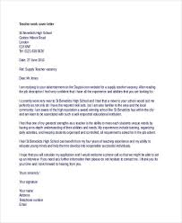 Work Cover Letters 21 Sample Work Application Letters Free Sample Example Format