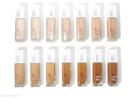 Maybelline Fit Me Colour Chart 17 Maybelline Fit Me Shine Free Balance Stick Foundation