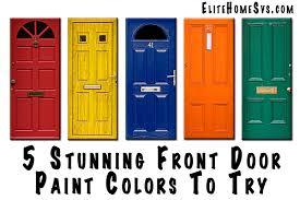 exterior door paint colorsStunning Front Door Paint Colors To Try