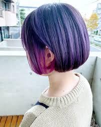 レディースのツートンカラーの髪型16選個性的で派手な2色の髪色は2