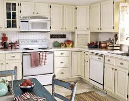 Small French Kitchen Design Kitchen Cabinets French Country Kitchen With White Cabinets