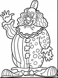 stunning printable clown coloring pages with clown coloring pages ...
