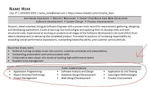 skills and competencies resumes core competencies examples resume examples of resumes