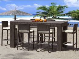 Bar Patio Furniture Outdoor Bar Furniture Tall Patio Bar Chairs Outdoor Pub Style Patio Furniture