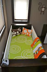 neon green crib bedding designs