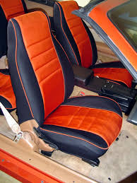 chevrolet camaro half piping seat covers