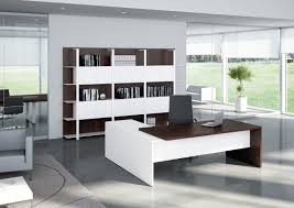 beautiful decor on stylish office furniture  designer office