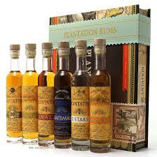 planation rum in cigar box