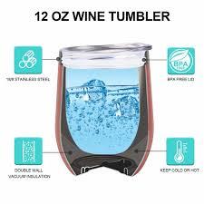 insulated wine tumbler bridal wine gift royal wineness wine glass her wineness wine