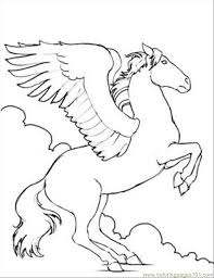 Small Picture Magic Horse Coloring Pages Coloring Pages