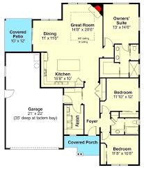 3 bedroom ranch house plans sq ft bungalow inspired ranch house plan with 3 beds floor