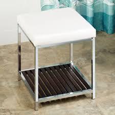 vanity stool with storage