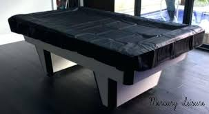leather pool table covers black cover 8 foot billiard outdoor australia