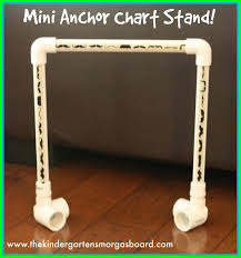 My Mini Anchor Chart Mini Diy Anchor Chart Stand The Kindergarten Smorgasboard