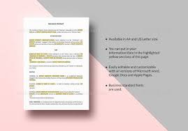 23+ Sample Contracts | Sample Templates