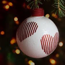 Moderne Weihnachtskugeln Gläserner Christbaumschmuck