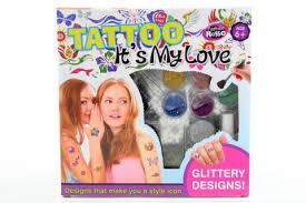Tetování Sada Pro Holky Internetová Prodejna Dino Hračky