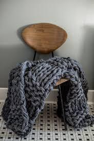 Chunky Knit Blanket Pattern Amazing Chunky Arm Knit Blanket Pattern Flax Twine