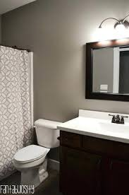 gray and brown bathroom color ideas. Gray And Brown Bathroom Color Ideas Home Tour Part 6 Guest Bath Decoration . W
