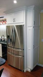 built in refrigerator cabinet. This Gorgeous French Door Refrigerator Is A Dream. And It Looks Spectacular In Custom-built Cabinet. Home Depot Customer Dougie Sent Us Photo. Built Cabinet P