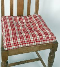 Kitchen Design Awesome Chair Cushions With Ties French Country