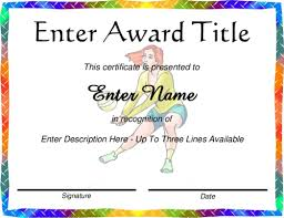 volleyball certificate template award certificate templates