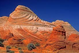navajo sandstone cross beds