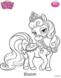 Small Picture Princess Palace Pets Bloom Coloring Page by SKGaleana on DeviantArt