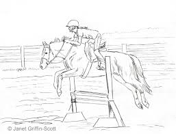 Small Picture Pencils Ready Draw a Jumping Show Horse Colored pencils