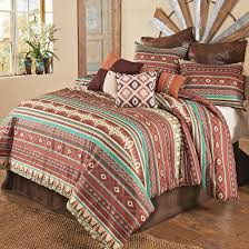 western bedding sets california king size sante fe e comforter set lone star western decor