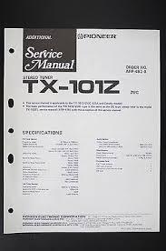 pioneer tx 1070 bk tuner original additional service manual wiring pioneer tx 101z stereo tuner original additional service manual wiring diagram