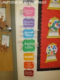 Classroom Management Chart Classroom Management Ideas Learning In Wonderland