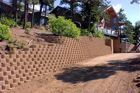 commercial and residential retaining walls in monument castle rock colorado springs