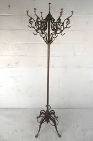 Iron Coat Rack Stand Unique Victorian Style Cast Iron Coat Hat Rack Coat racks Iron 15