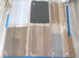 Time To Choose A Stain Color For White Oak Flooring Mommy