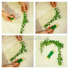 How to make a fresh boxwood wreath from wire hangers!