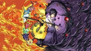 Naruto and Sasuke Hintergrundbild - NawPic