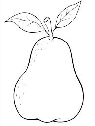 Small Picture Pear coloring pages 5 Nice Coloring Pages for Kids