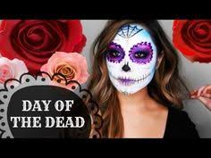 day of the dead sugar skull makeup tutorial diana quach